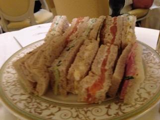 Sandwiches à la ritz